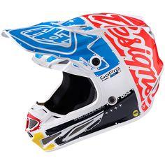 Troy Lee Designs Precision Tee Vivid Blue T Shirt MX Motocross MTB BMX Enduro