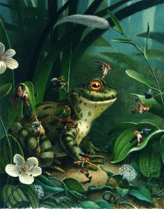 Frog and Friends by Jon Goodel