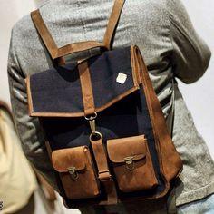 Survey Bacpack Denim/Leather 25 Oz. find it on our webstore soon. Credits: @guaizine #kjore #kjoreproject #bag #backpack #handmade #denim #denimlovers #design #selvadge @kjoreproject