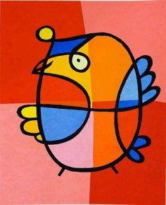Vreemde Vogel No 2 | Jacqueline Schäfer | http://www.yookoo.nl/collections/online-galerie/products/vreemde-vogel-no-2-jacqueline-schafer