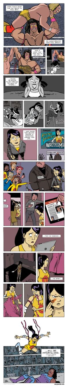 ZEN PENCILS » 151. ULTIMATE WARRIOR: Legacy