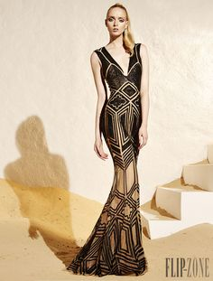 Zuhair Murad Resort 2015 - Prêt-à-porter - http://pt.flip-zone.com/fashion/ready-to-wear/fashion-houses-42/zuhair-murad-4848