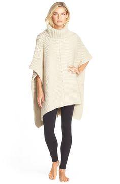 UGG® Australia 'Robbyn' Chunky Knit Turtleneck Poncho
