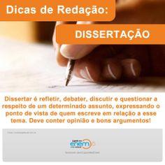 DICA DE REDAÇÃO 3 Inspirational Text, Texts, Help Me, Study, Writing, Learning, School, Academic Writing, Culture