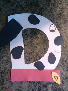Koltyns Letter D Craft D Is For Dog Alphabet Letter Crafts Alphabet Book