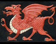 cast welsh dragon - Google Search