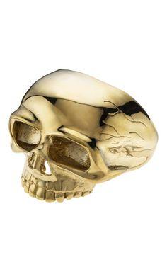 Skull Ring By Jennifer Fisher Skull Jewelry, Jennifer Fisher, Playing Dress Up, Skulls, Bones, Grunge, Old Things, Goth, Handmade Jewelry