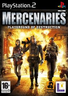 Mercenaries: Playground of Destruction Game for the Sony Playstation 2 Buy Now from Fully Retro! Playstation Games, Xbox Games, Juegos Ps2, Game Guide, The Draw, First Game, Print Pictures, Best Games, Destruction