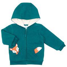 45c6f2b2d John Lewis Baby's Fox Zipped Hoody John Lewis Kids, John Lewis Fashion,  Hoody,