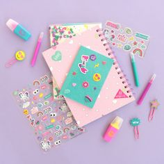 Stationary Supplies, Cute Stationary, Diy Birthday, Birthday Gifts, Birthday Cake, Cute School Supplies, Office Supplies, Kids Stationery, Pen Pals