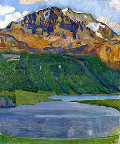 FERDINAND HODLER (1853-1918) Piz Corvatsch, 1907