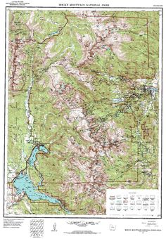 Topographic Map Rocky Mountains.33 Best Maps Images