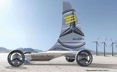 Future Racing - 2025 Mercedes Formula Zero Sail Car at LA Design Challenge