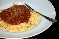 Spaghetti bolognese - Keuken♥Liefde