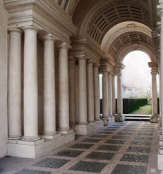 Roma illusion of a gallery 37 meters long (it is 8 meters) Baroque Architecture, Classical Architecture, Architecture Details, Renaissance Architecture, Types Of Aesthetics, Different Aesthetics, Aesthetic Light, Beige Aesthetic, Neoclassical