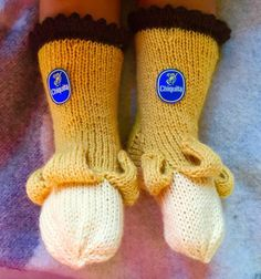 Banana Socks! Just don't slip, hehe.