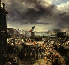 Léon Cogniet, La Garde nationale de Paris part pour l'armée. (Septembre 1792)