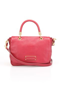 Marc by Marc Jacobs Too Hot To Handle Handbag in Lipstick Red