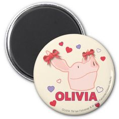 Olivia - Hearts. Regalos, Gifts. #imanes #magnets