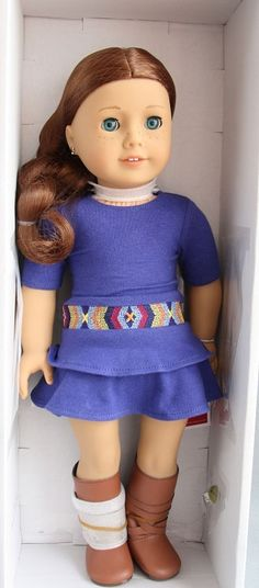 American Girl of the Year 2013 Saige- bella really wants her, i dug up a pic of what she may look like