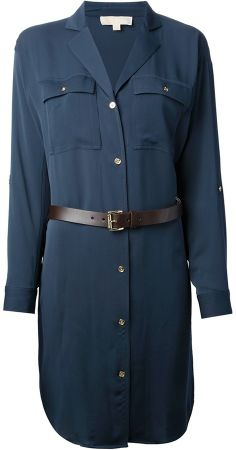 MICHAEL Michael Kors shirt dress on shopstyle.com