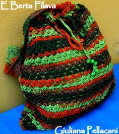 #shopper mille colori, uncinetto #bag sammer shopper crochet
