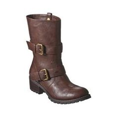 Womens Mossimo Supply Co. Kemaria Biker Boots - Brown