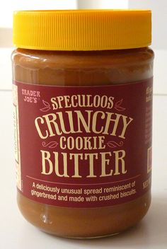 What's Good at Trader Joe's?: Trader Joe's Speculoos Crunchy Cookie Butter