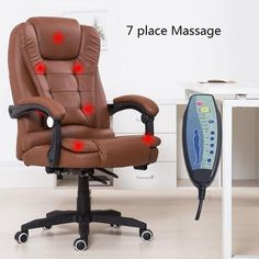 Pi#3033 Massage Computer Home Office Can Lie W/ Foot Lifting Ergonomic Seat Chair At The Boss