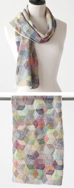 Sophie Digard  EQUILIBRE LINEN SCARF