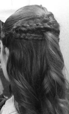 Hair by Kelly bileddo. #salonantebellum #bridalhair #PWG #braids