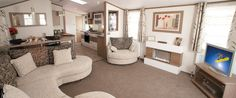 modern static caravan interiors - Google Search