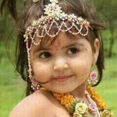 Margdarshak post: भगवान श्री कृष्ण के विषय में वैज्ञानिक प्रमाण की ज. Little Krishna, Baby Krishna, Cute Krishna, Radha Krishna Photo, Krishna Photos, Lord Krishna, Krishna Art, Krishna Images, Shree Krishna