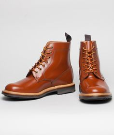 Mark McNairy Leather Derby Boot