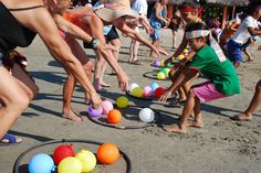 SandBiz is the creator and manufacturer of SandHole the Beach Game and Sand-Toss