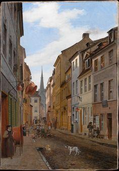 Parochialstrasse in Berlin  Artist:Eduard Gaertner Date:1831