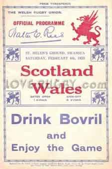 #rugby history Born today 04/05 in 1910 : Edgar Jones (Wales) played v Scotland in 1933 http://www.walesvscotlandrugbytickets.com/