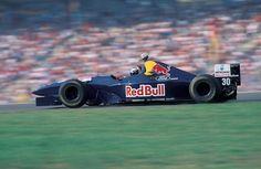 Heinz-Harald Frentzen (Red Bull Sauber Ford), Sauber C14 - Ford ECA Zetec-R 3.0 V8, 1995 German Grand Prix, Hockenheimring