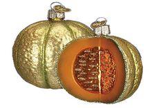 Italian Christmas Ornaments Cantaloupe