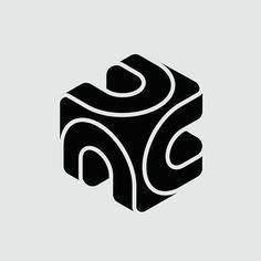 Logo Design - Dansk Datamatik Center by Ole Friis Website Design, Design Blog, Logo Design Inspiration, Camera Logo, Gfx Design, Graphic Design, Identity Design, Typography Logo, Logo Branding
