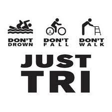 Anyone can do a triathlon! Follow these 3 rules, and success is guaranteed! :-) ps, it's really that simple and the pretty much the only way I finish! ;-)