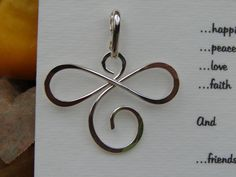 Sterling Silver Infinite Pendant Necklace Inspiring por Oogle