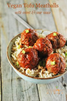 This is by far the best vegan tofu meatball that I have eaten, served alone or smothered with any of my favorite sauces. This makes an excellent dish as appetizer, with stroganoff, spaghetti dinner, or in a sub.