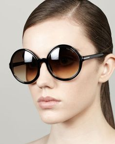 Tom Ford Carrie Oversized Sunglasses - Neiman Marcus