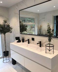 Home Design Decor, Home Room Design, Home Interior Design, Home Decor, Hallway Designs, Bathroom Design Inspiration, Dream House Interior, Bathroom Design Luxury, New Home Designs