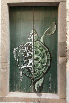 (´∀`)                                                               Street Art