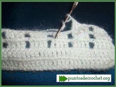 Novedoso Punto crochet para chalecos