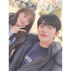 Image may contain: one or more people, selfie and closeup Ulzzang Couple, Ulzzang Girl, Cute Couple Art, Cute Couples, Korean Celebrities, Korean Actors, Teen Web, Korean Drama List, Web Drama