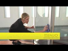 Check out Fiona's quick, easy and chemical-free guide to cleaning the windows with ENJO. Detox Your Home, Outdoor Range, Outdoor Settings, Nifty, It Works, Deck, Windows, Cleaning, Easy