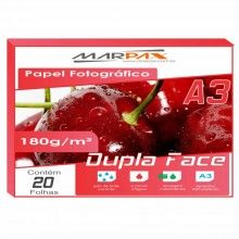 Papel Foto Glossy Paper Dupla Face 230g/m² A3
